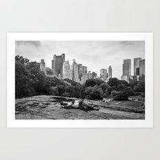 New York Sleeper Art Print