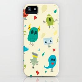 I mostri iPhone Case