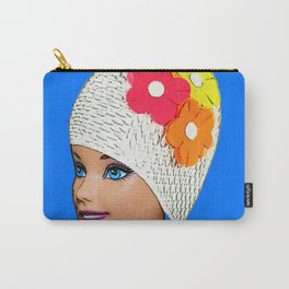 Vintage Swimmer! Cool Pop Art! Carry-All Pouch