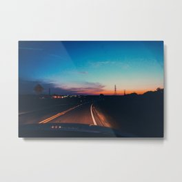Waco Road Metal Print