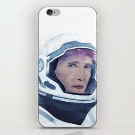 Interstellar Low Poly Poster iPhone Skin