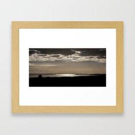 The Severn Bridges at Sunset Framed Art Print