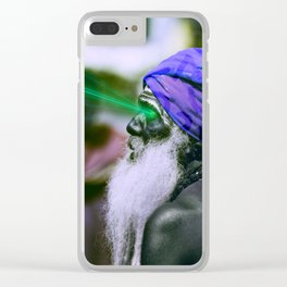 Buddhist Funk Clear iPhone Case