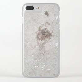 Footprint Clear iPhone Case