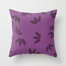 Drops medium. Throw Pillow