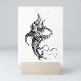 Black Ink Mini Art Print