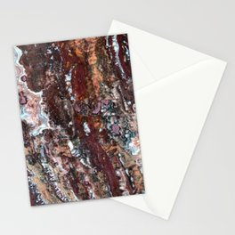 Blood Marble Stationery Cards