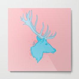 Pink Breeze Metal Print