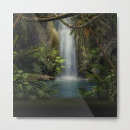 The Jungle Metal Print