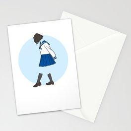 Blue Uniform Stationery Cards