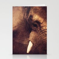 strong Stationery Cards featuring Strong by Donika Nikova
