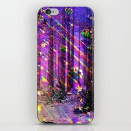 Christmas Lights iPhone Skin