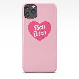 Rich Bitch iPhone Case