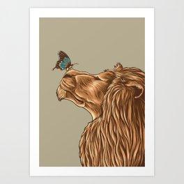 Gentle Man Art Print