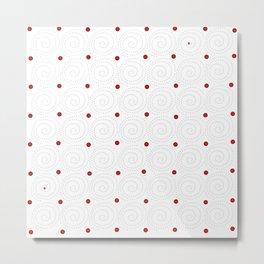 Circular 19 Metal Print