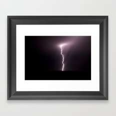 The Power of Zeus Framed Art Print