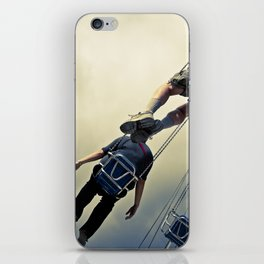 Flying Bodies iPhone Skin