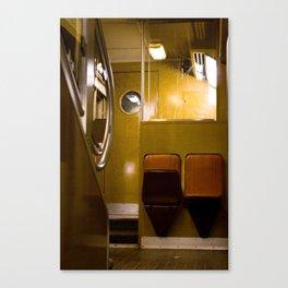 Paris Train Canvas Print