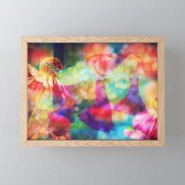 Flower Dance Framed Mini Art Print