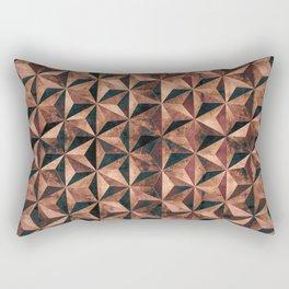 Copper pyramids Rectangular Pillow