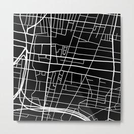 Northern Liberties Philly Map Metal Print