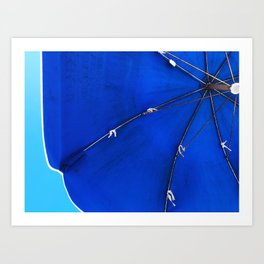 skies of blue Art Print