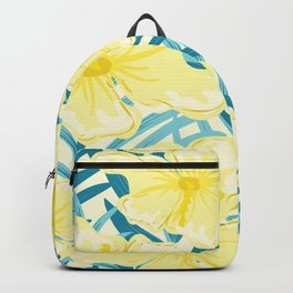 Hibiscus jungles Backpack