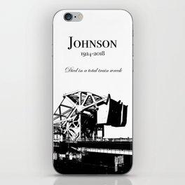 Johnson Street Bridge (Train Wreck) iPhone Skin
