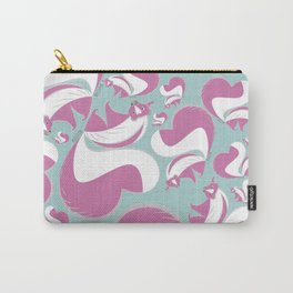Pink Skunk Carry-All Pouch