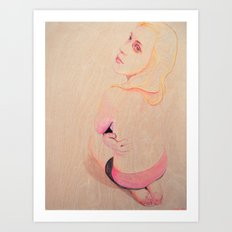 Marina Entranced Art Print