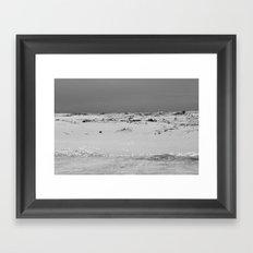 Triple S (Sky, Sand, Sea) Framed Art Print