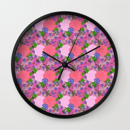 Florals, How Groundbreaking Wall Clock
