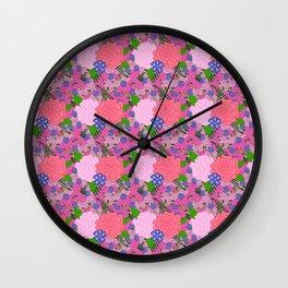 Florals, How Groundbreaking Wall Clock
