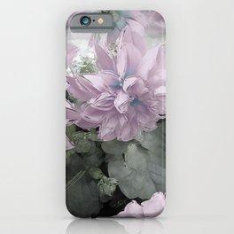 Pastel Dahlia's iPhone Case
