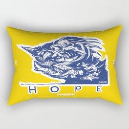 Legends of Hope: Wave of Momentum (Sachuest Point, Rhode Island) Rectangular Pillow