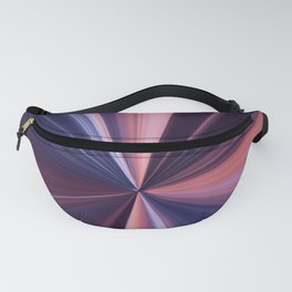Pink and Purple Shine Fanny Pack