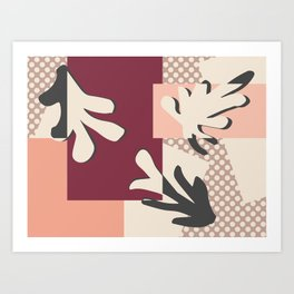 Finding Matisse pt.2 #society6 #abstract #art Art Print