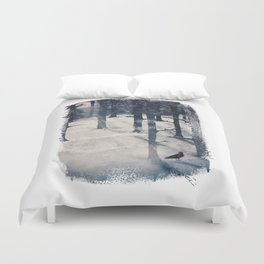 the raven who stole my heart Duvet Cover