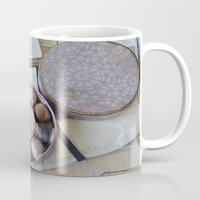 sewing Mugs featuring Vintage Sewing by KarenHarveyCox