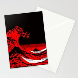The Scarlet Wave Stationery Cards