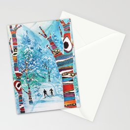 Forelsket ('Falling in Love' in Norwegian) Stationery Cards
