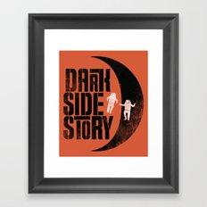 Dark Side Story Framed Art Print
