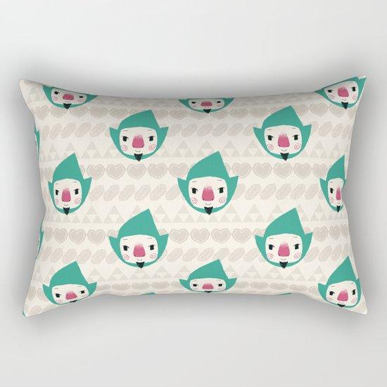 Tingle pattern Rectangular Pillow