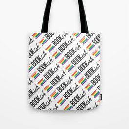Feelin Bookish All Over Tote Bag