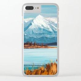 a Quiet Mind Clear iPhone Case
