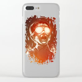 FIREEE! Clear iPhone Case