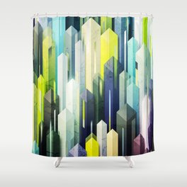 obelisk posture 3 Shower Curtain