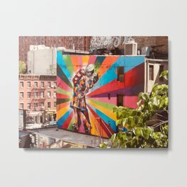 NYC Graffiti Metal Print