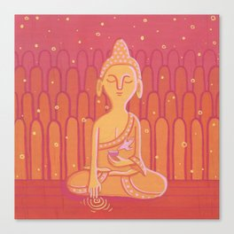 Buddha E Canvas Print