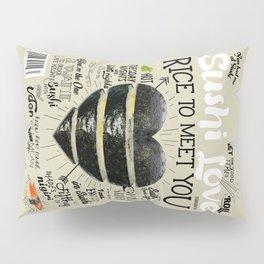 Sushi Love Cover Pillow Sham